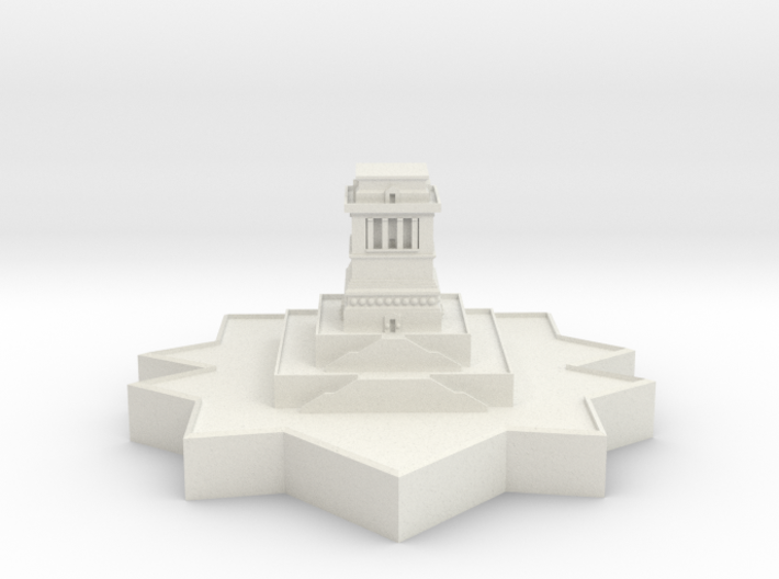 Statue of Liberty Base 3d printed