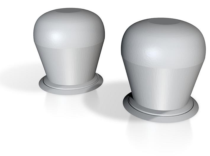 1/72 Navy Generic Dome set - Medium 3d printed