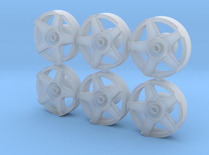 3D Wheel Inserts - O.Z. Racing Wheels 3d printed
