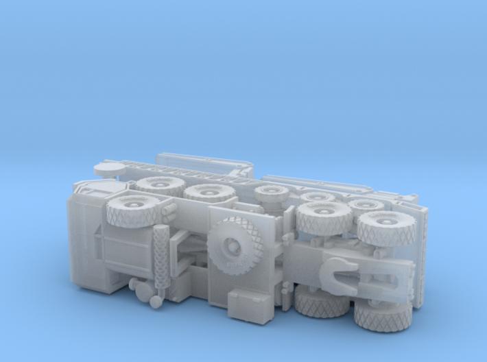 HEMTT M983 with M870A1 Semitrailer 1/285 3d printed