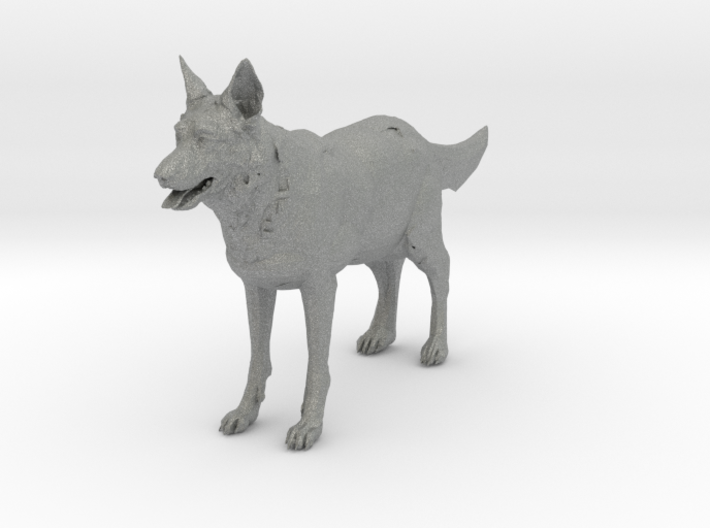 O Scale German Shepard 3d printed This is a render not a picture