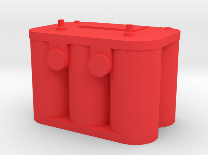 New Style Car Battery 1/10 scale 3d printed