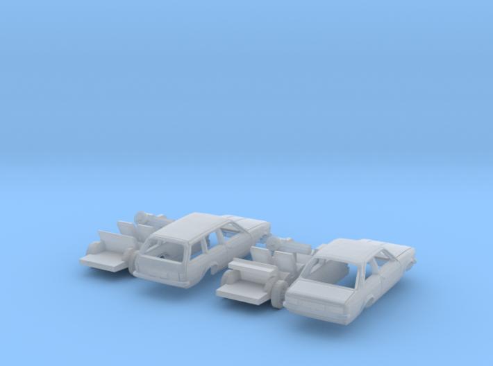 SET 2x Opel Kadett (N 1:160) 3d printed