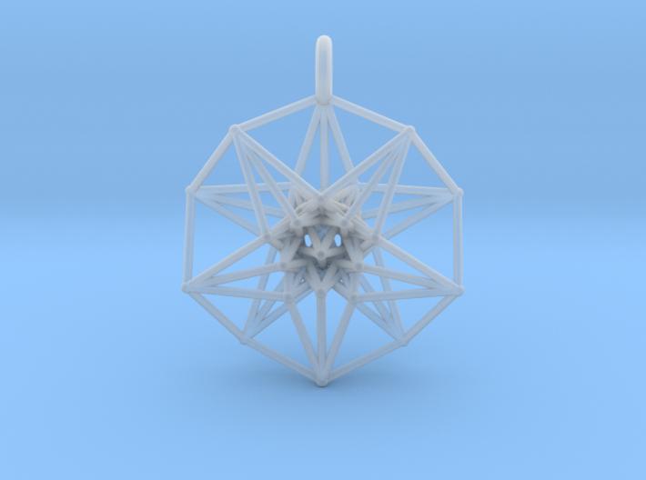 5dhypercube-42mm-1 3d printed