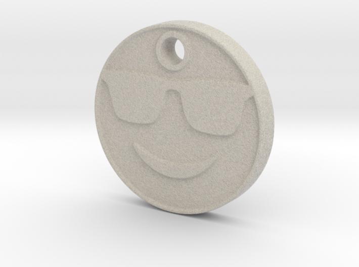 Cool Emoji Aromatherapy Pendant 3d printed