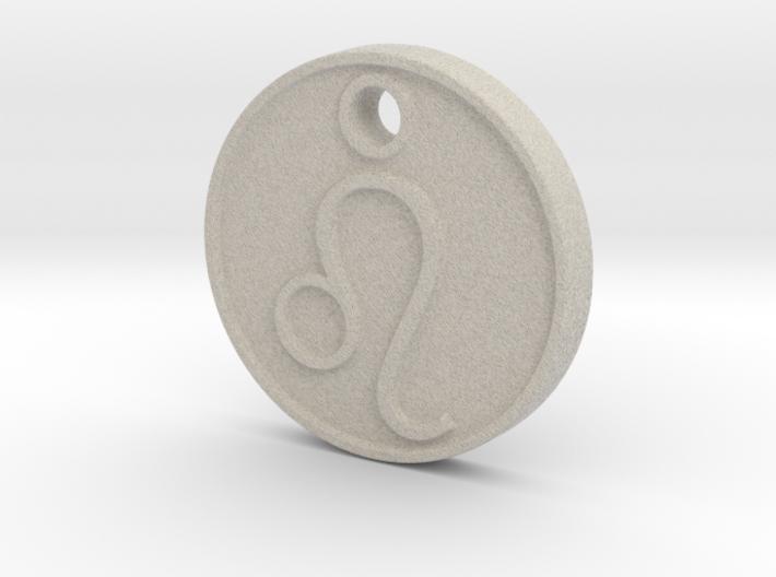 Leo Aromatherapy Pendant 3d printed