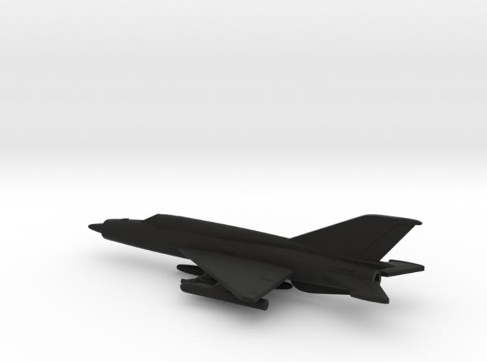 MiG-21bis (w/o landing gears) 3d printed