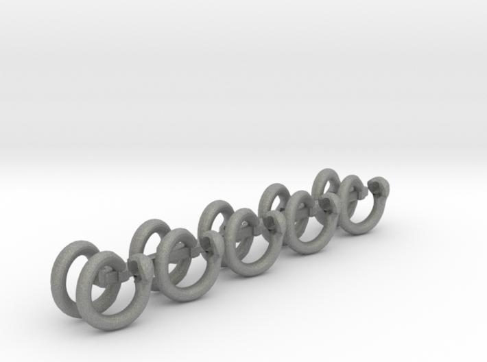 Safety Ring Link set 3d printed