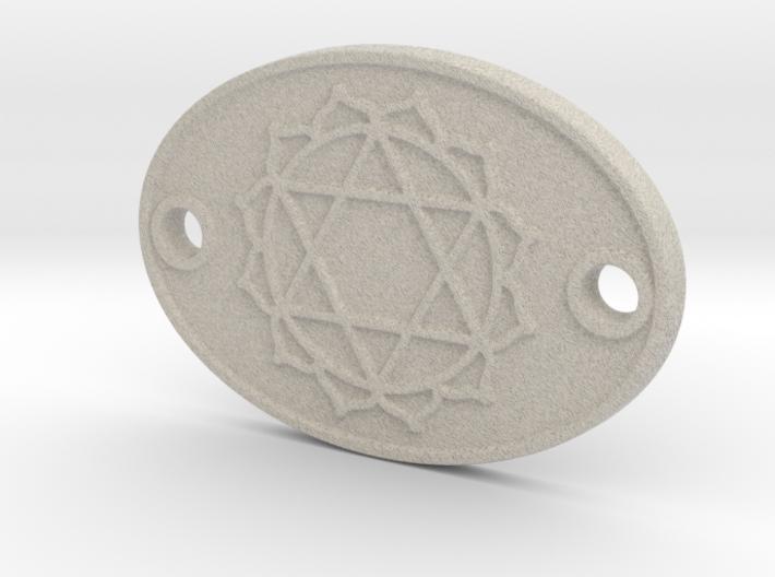 Heart Chakra Aromatherapy Convertible Pendant 3d printed