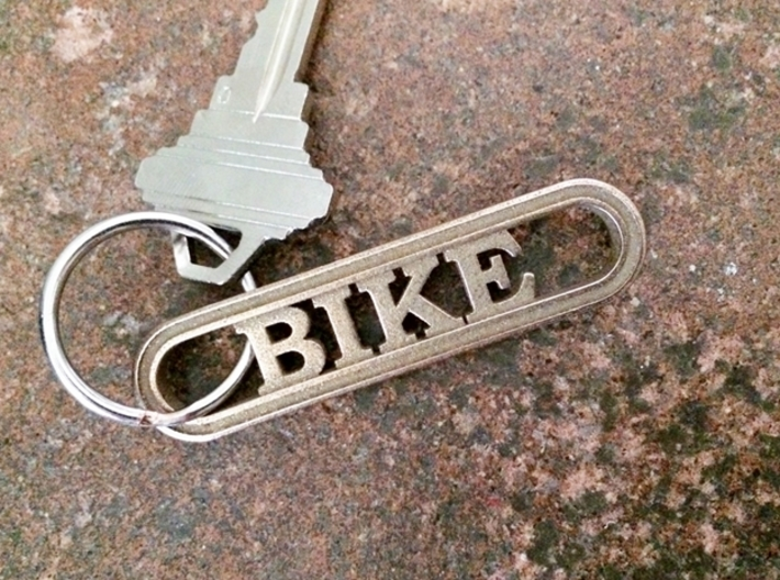Bike Keychain - Great Gift for Cyclers 3d printed