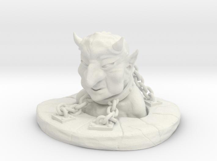 Bound Devil 3d printed