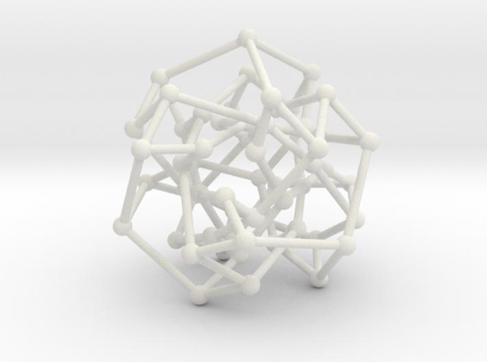 Cubic Klein graph 3d printed