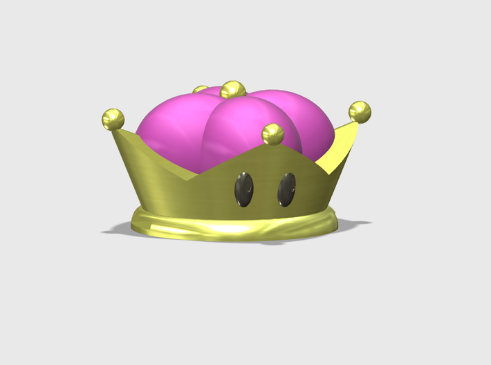 Bowsette 3d printed