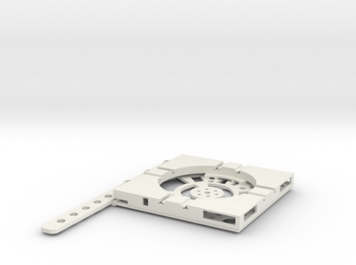T-12-wagon-turntable-48d-100-plus-base-flat-1a 3d printed