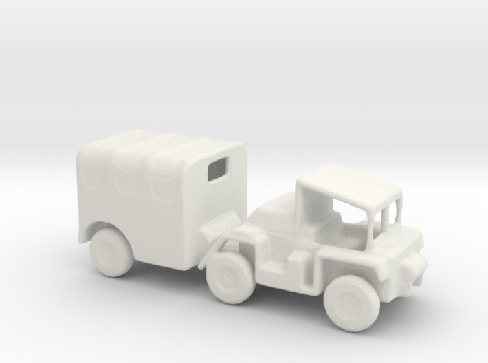 1/144 Scale M561Gama Goat Cover 3d printed
