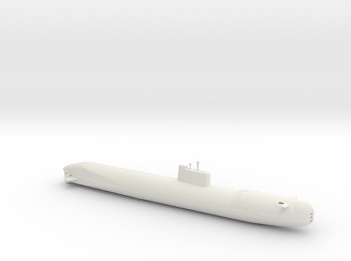 1/700 Scale USSR Tango Class Submarine 3d printed