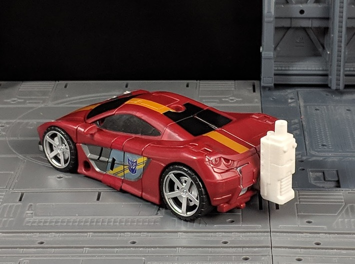 TF CW Stunticon Car Cannon Adapter 3d printed Used In Car Mode