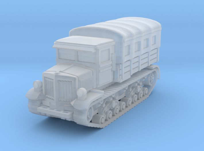Voroshilovets tractor (covered) scale 1/144 3d printed