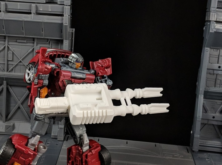 TF Combiner Wars Dead End Car Cannon 3d printed Combined for Robot Mode
