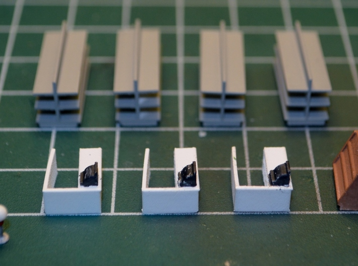 N-Scale Five & Dime Interior 3d printed Painted Production Sample