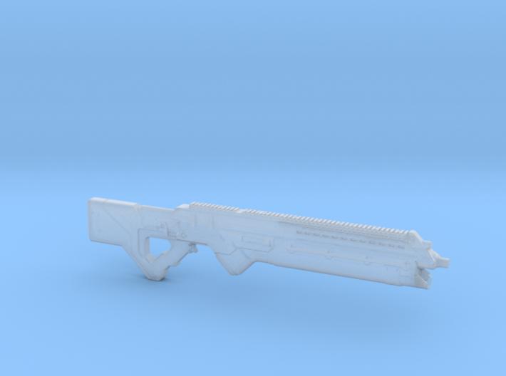 cyberpunk - near future carbine in 1/6 scale 3d printed