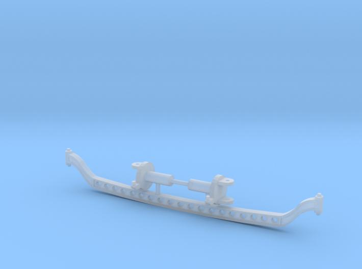 1/25 hot rod drop axle 3d printed