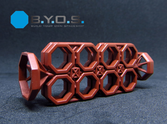 BYOS PART FRAME SKELETON NANO CONTAINER OCTO 3d printed