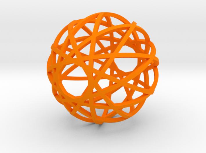 Fusion Ornament 3d printed