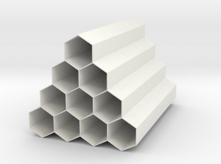 Hive Penholder 3d printed