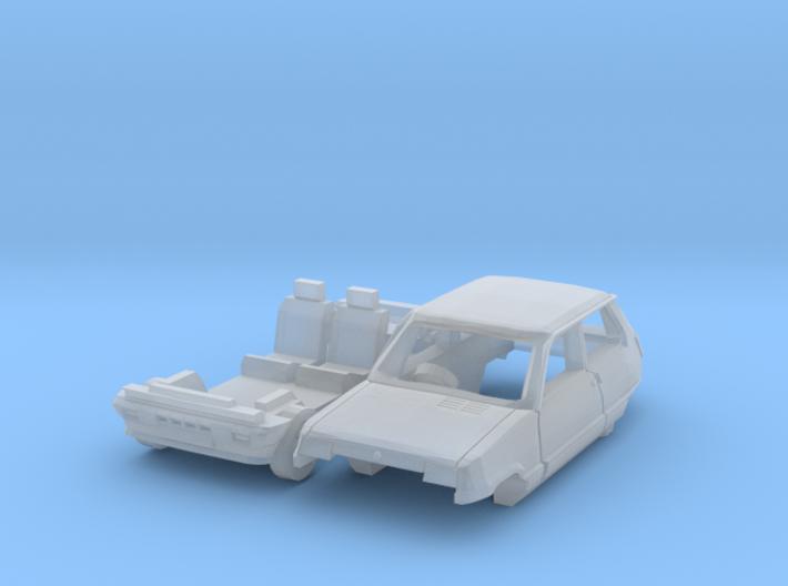 Renault 5 GTL (British N 1:148) 3d printed