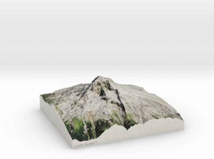 Mt. Hood, Oregon, USA, 1:25000 3d printed