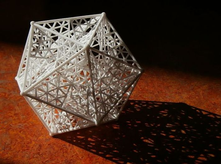 8 cm Great dodecahedron 3d printed