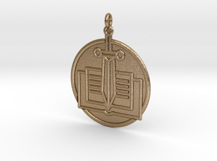 History Symbol 3d printed