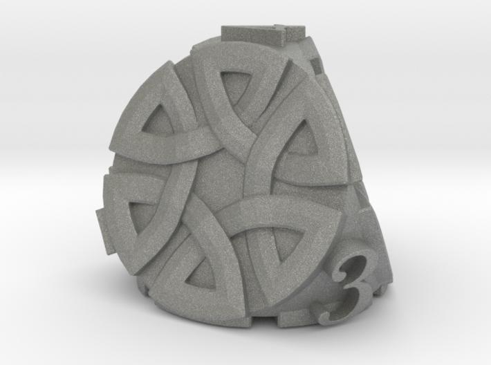 Celtic D4 Alternative - Solid Centre for Plastic 3d printed