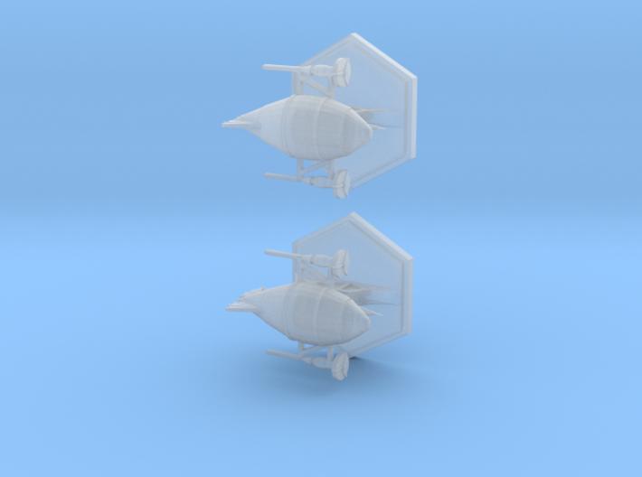 Quicksilver 3d printed