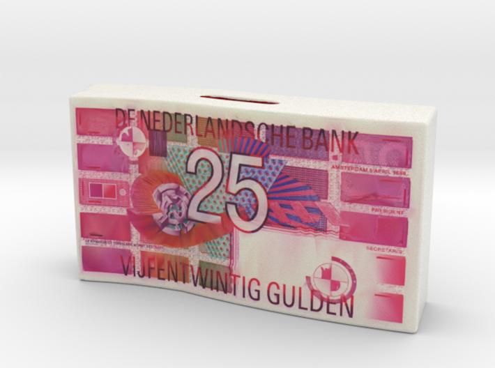 Spaarpot 25 Gulden 3d printed
