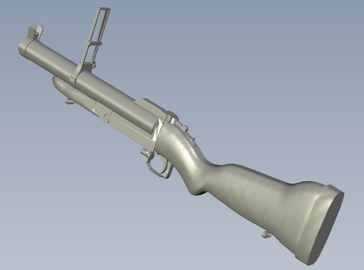 1/20 scale M-79 40mm grenade launcher x 1 3d printed