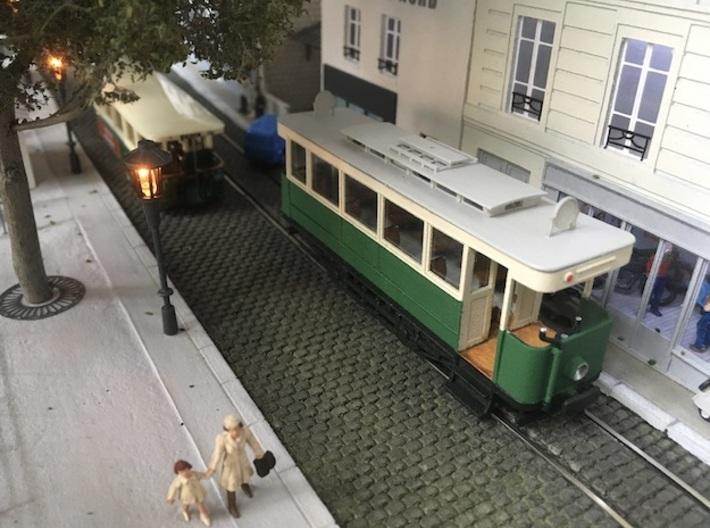 Tramway Paris type 300 - Ho 3d printed
