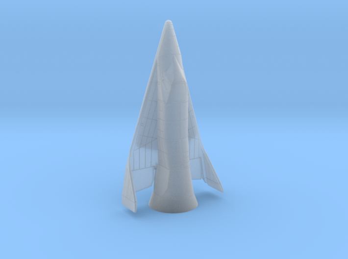 1/144 X-20 Dyna-Soar with launch fairing 3d printed