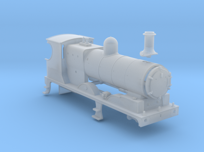 L&YR Class 28 (657) - (FUD) 3d printed