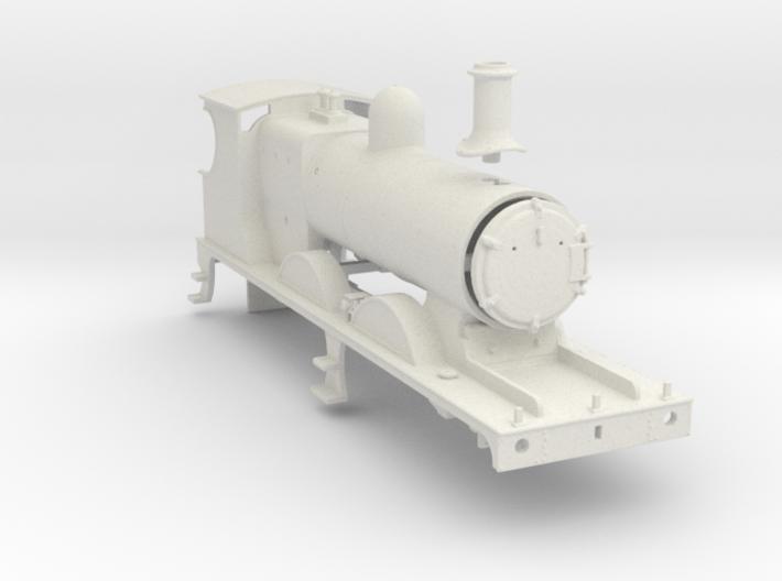 L&YR Class 28 (29) Mogul Experiment - Body (WSF) 3d printed