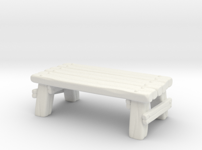 Wooden Table 3d printed