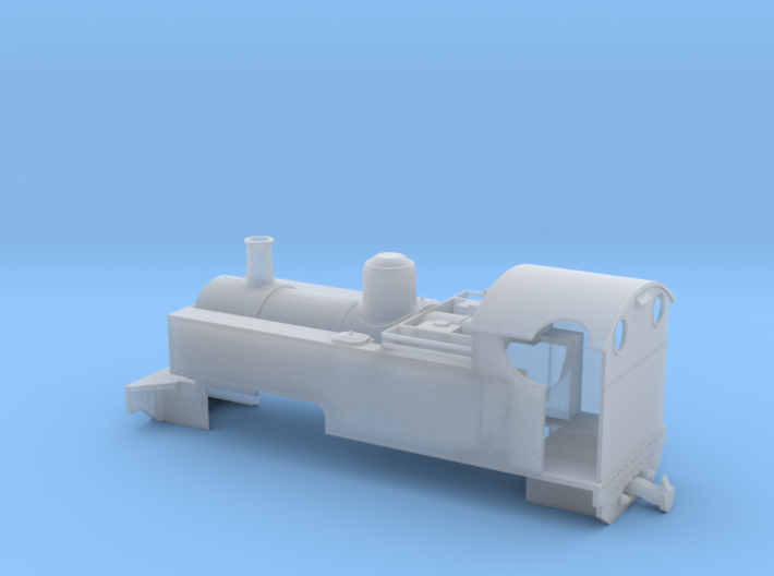 WHR RUSSELL (009) in cut-down condition 3d printed