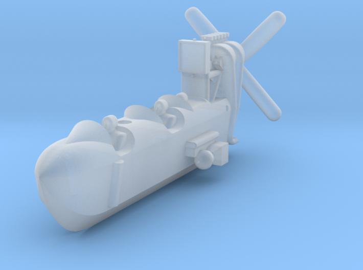 SS Zero Gondola 1/350th scale 3d printed