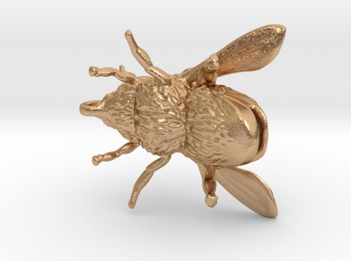 Honey Bee - Pendant - Vessels 3d printed
