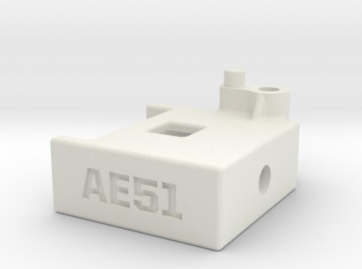 RC8B3.1 Integrated Transponder Mount 3d printed