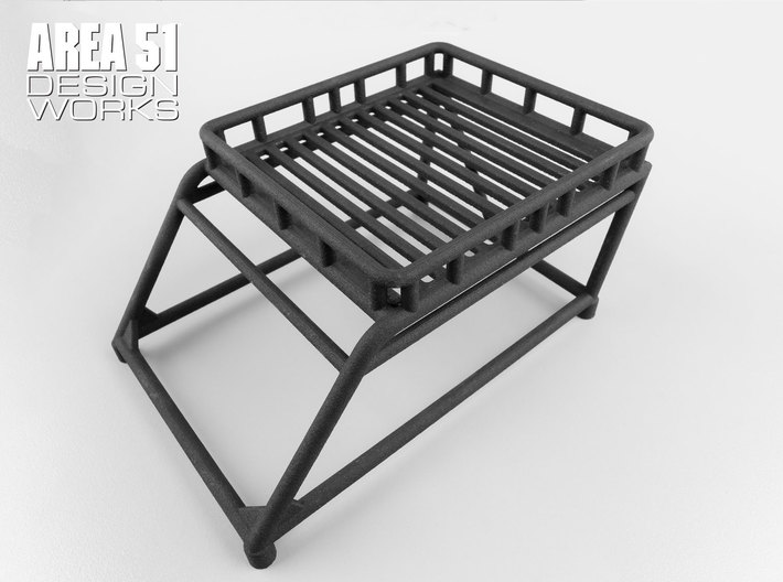 12th Scale Overland Bed Rack 3d printed