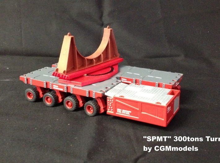 SPMT 300tons TURNTABLE 3d printed Add a caption...