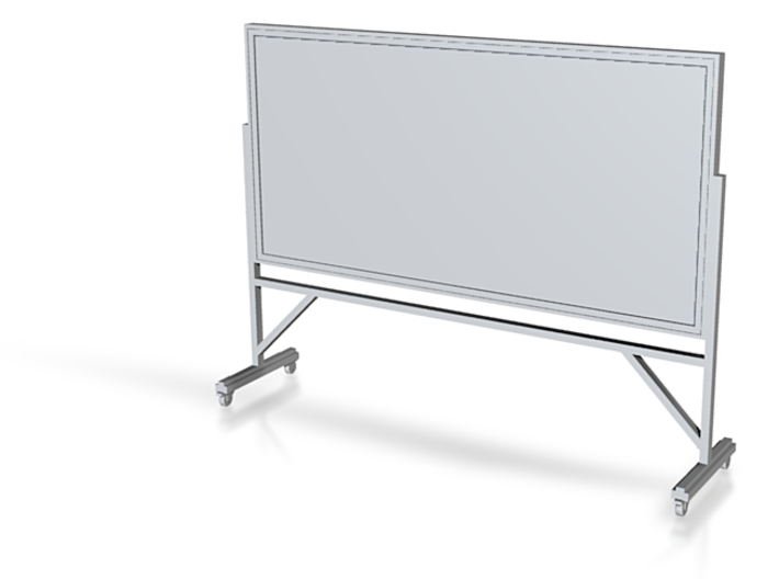 "Miniature 1:48 Chalkboard (8'-0"" long) 3d printed"