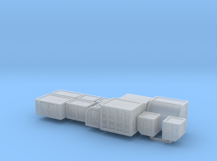 Cargo x10 cube-curve 3d printed